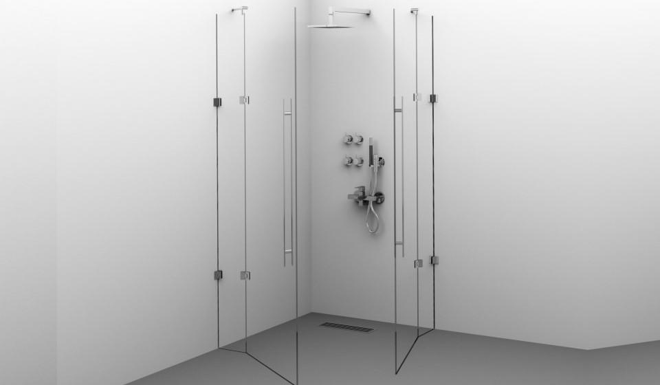 Cabine duș din sticlă